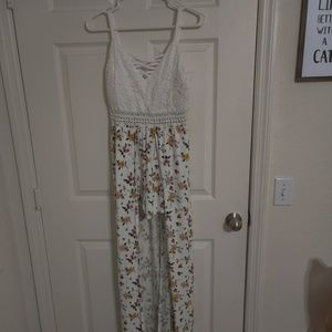 Other - Floral Romper style dress